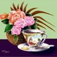 薔薇とコーヒー